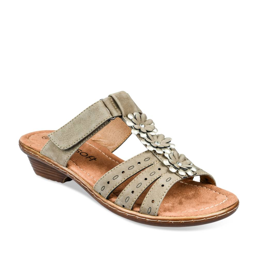 Mules TAUPE NEOSOFT FEMME