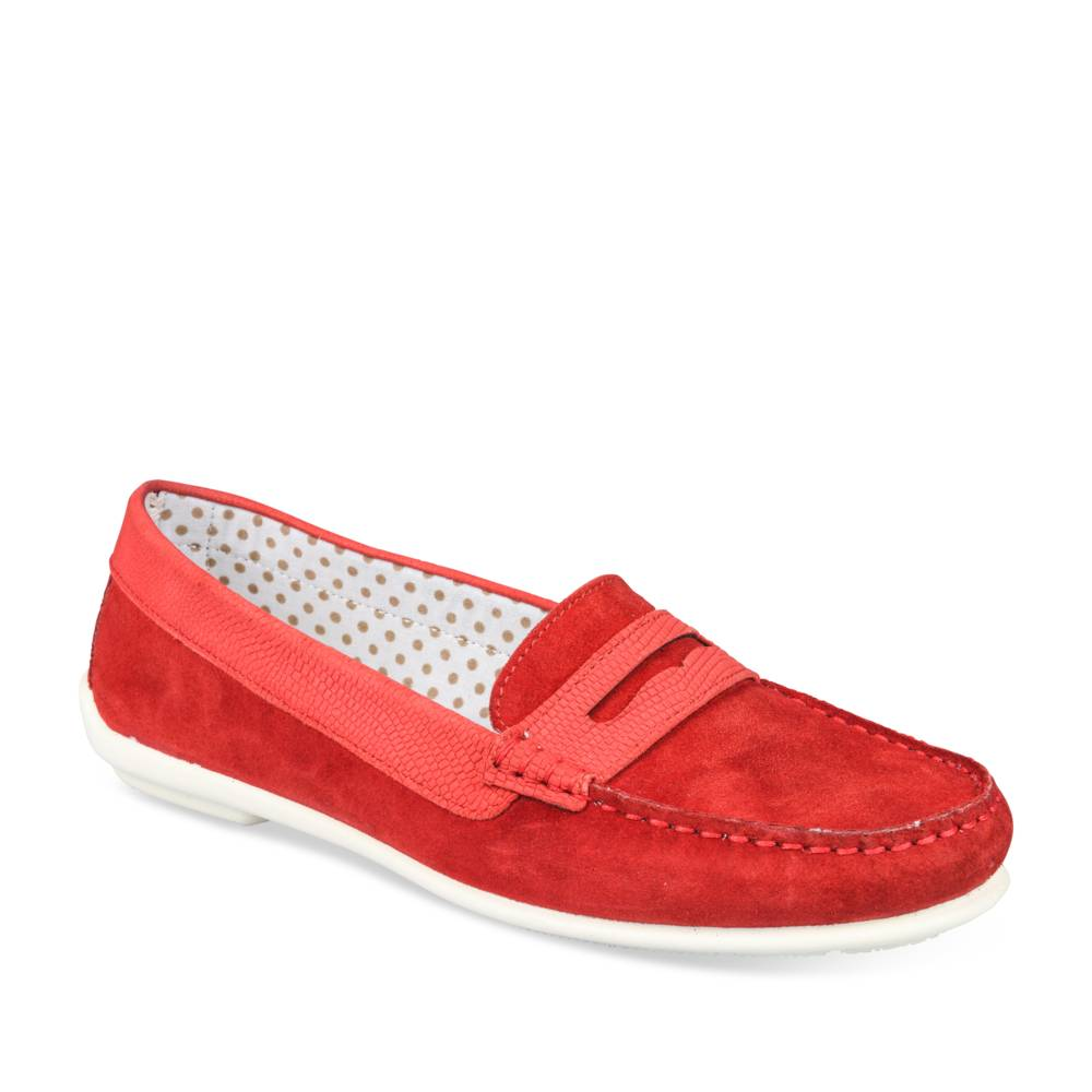 Mocassins ROUGE EVITA LEATHER