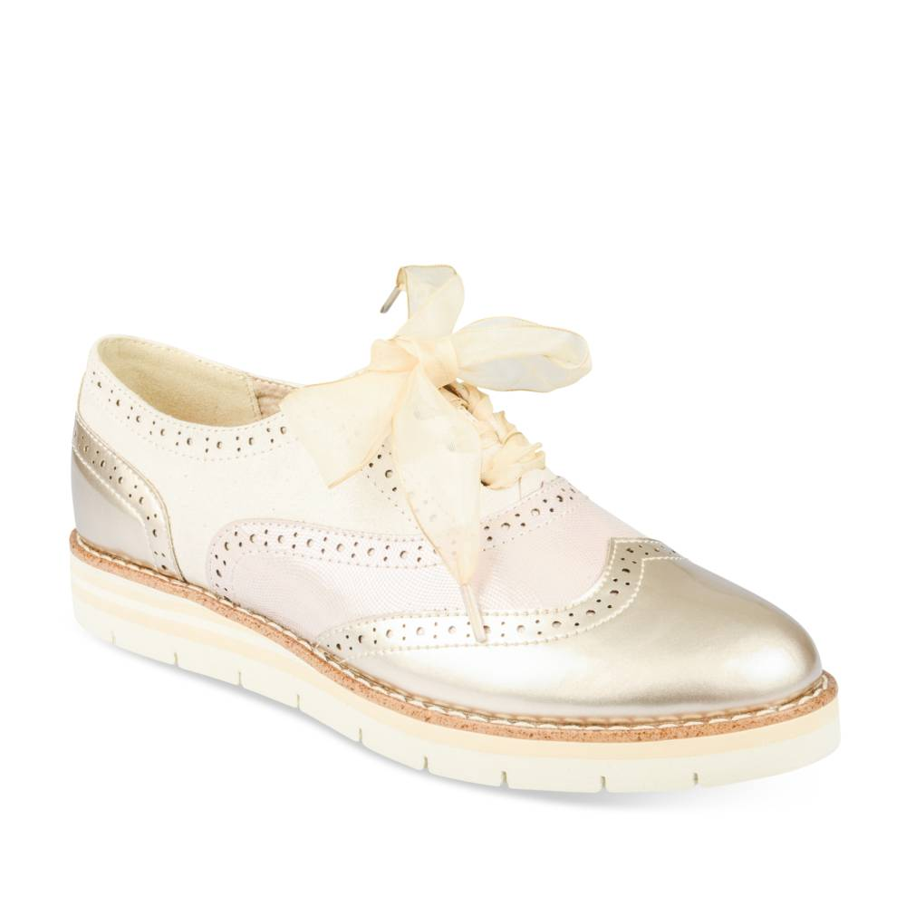 Derbies BEIGE MyB Derbies Femme