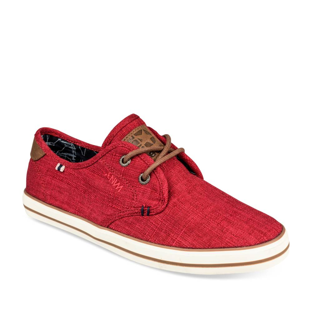 Baskets ROUGE DENIM SIDE