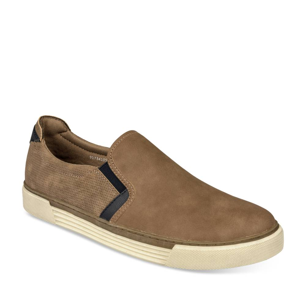 Baskets TAUPE NEOSOFT HOMME
