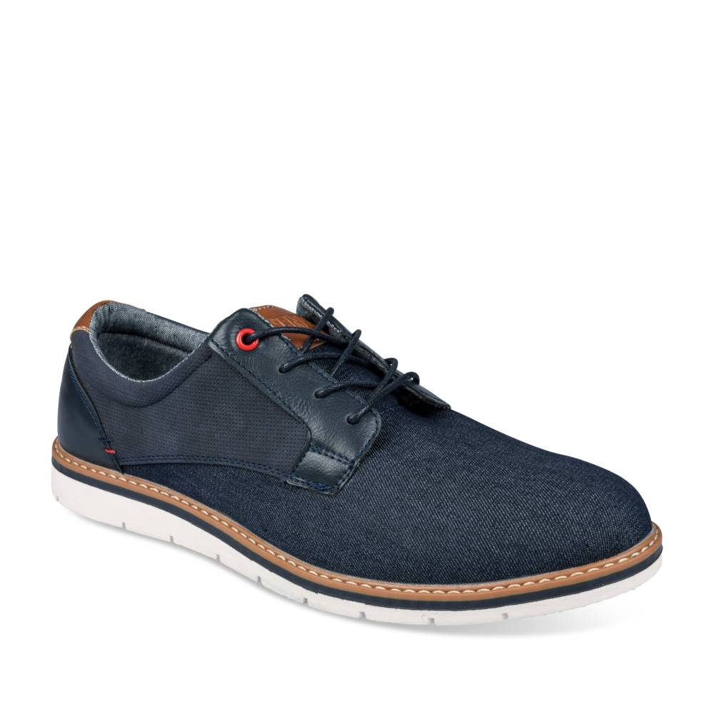 Derbies MARINE DENIM SIDE