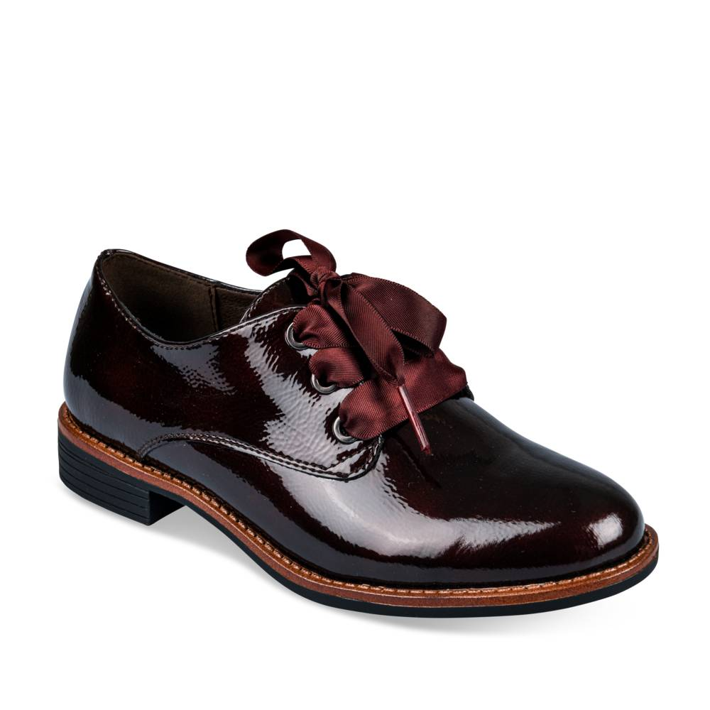 Derbies BORDEAUX LOVELY SKULL