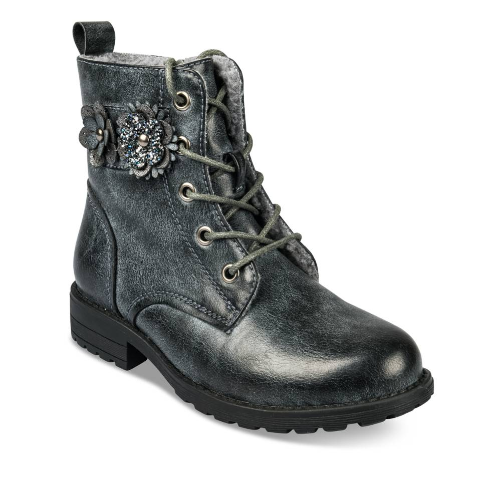 Bottines GRIS LOVELY SKULL