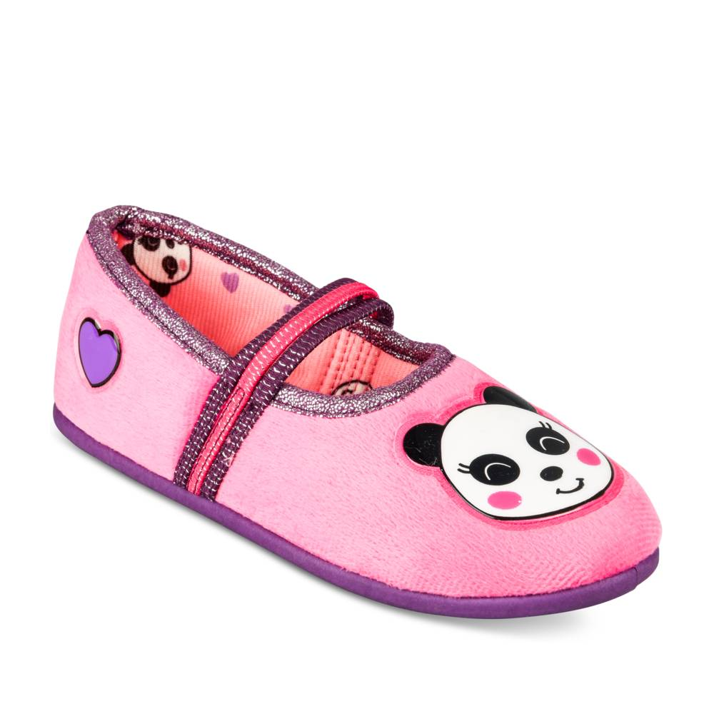 Chaussons FUSCHIA LOVELY SKULL
