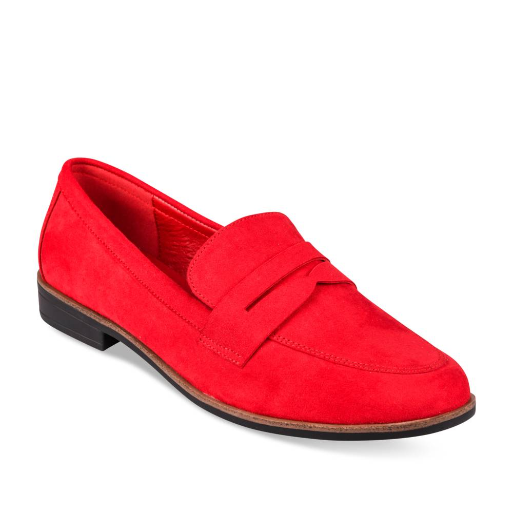 Mocassins ROUGE VIA DONNA