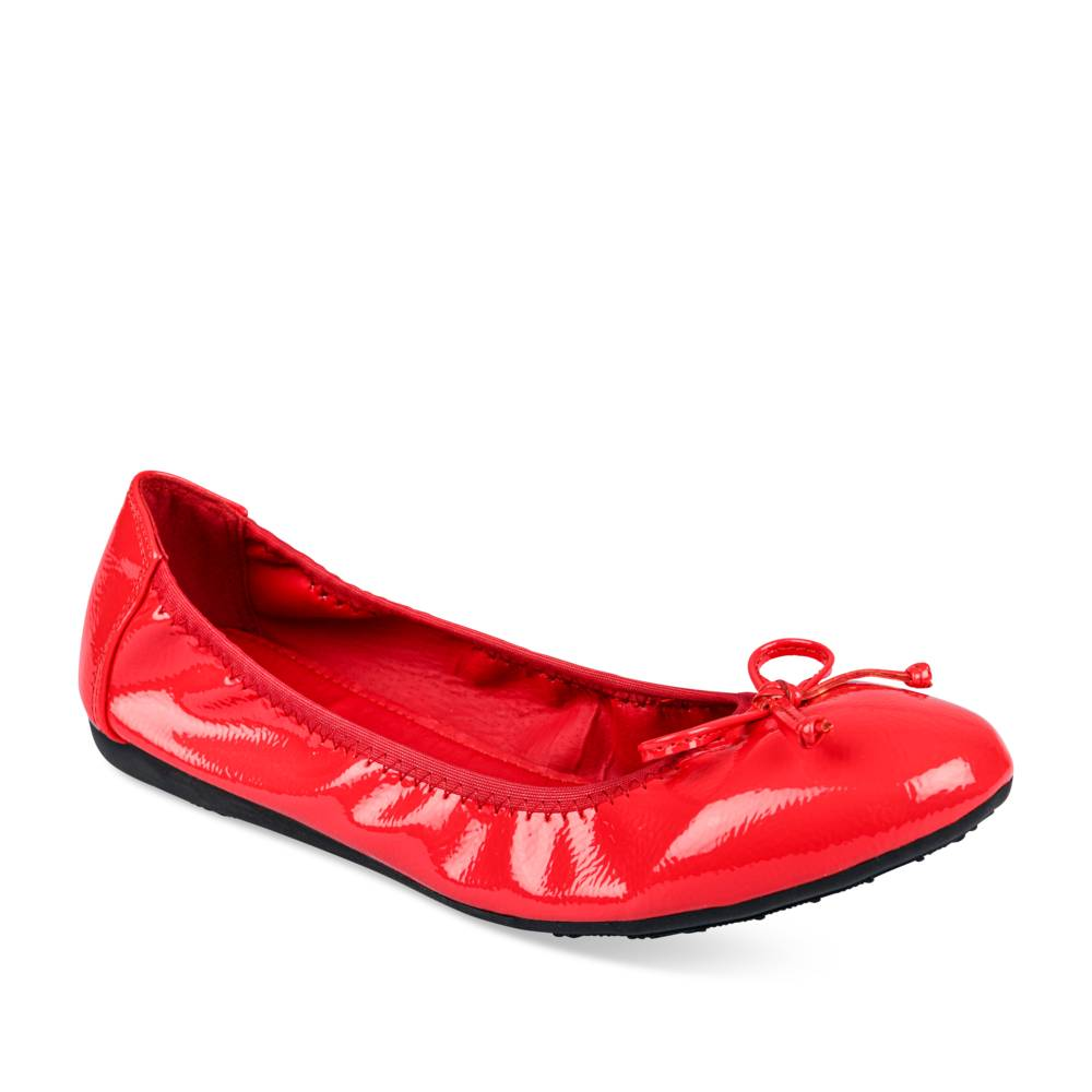 Ballerines plates ROUGE PHILOV