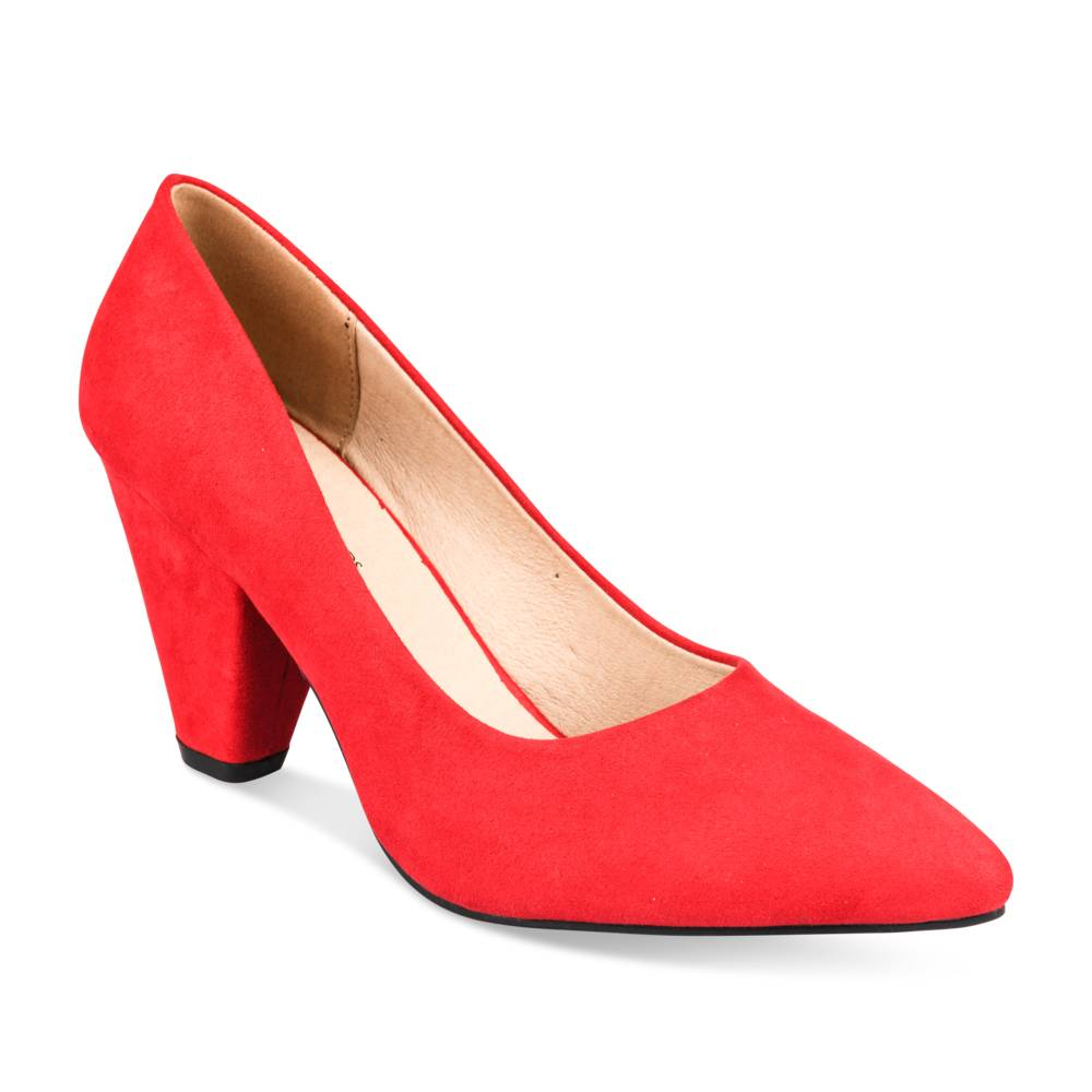 Pumps ROOD GRANDS BOULEVARDS