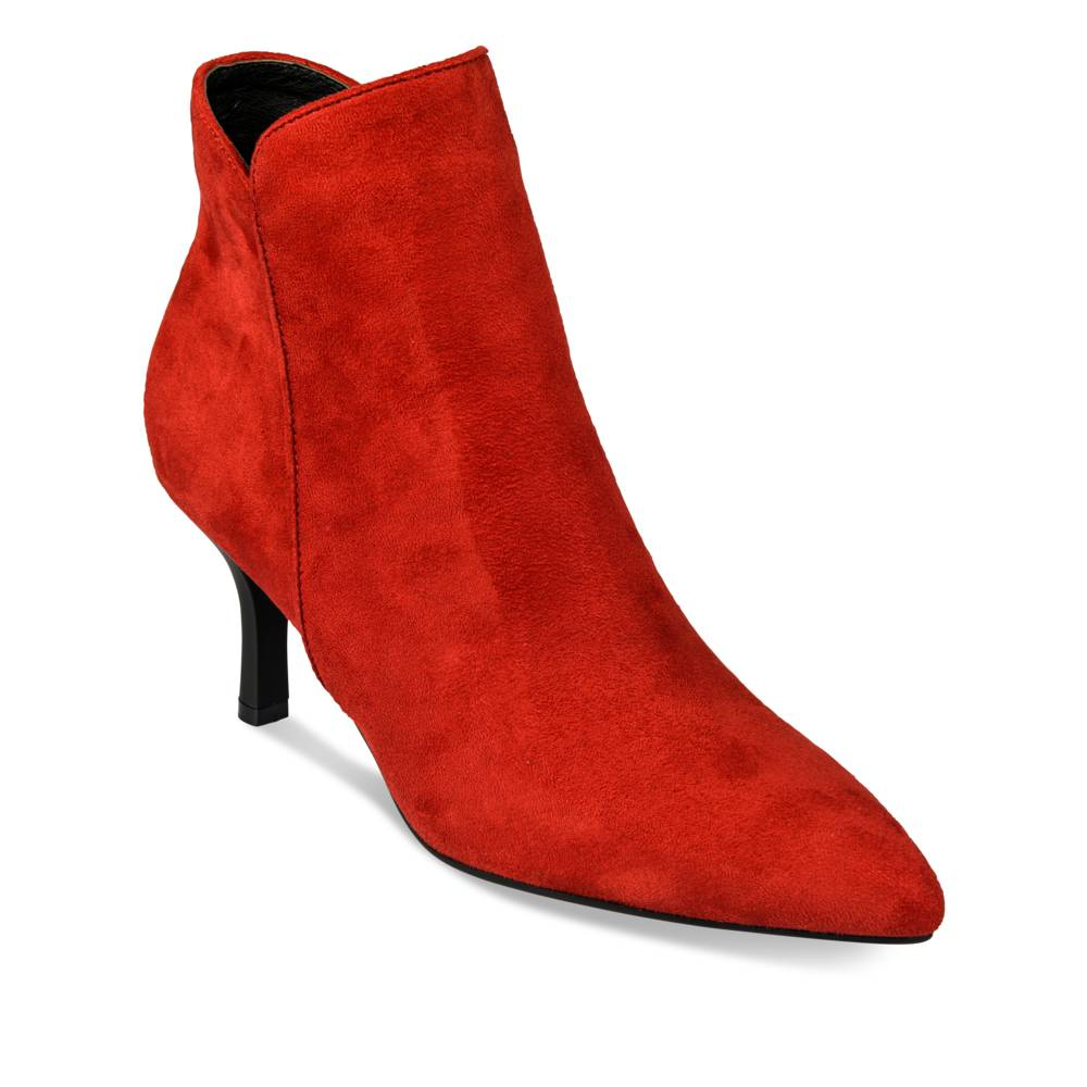 Bottines à talon ROUGE ANGELA THOMPSON