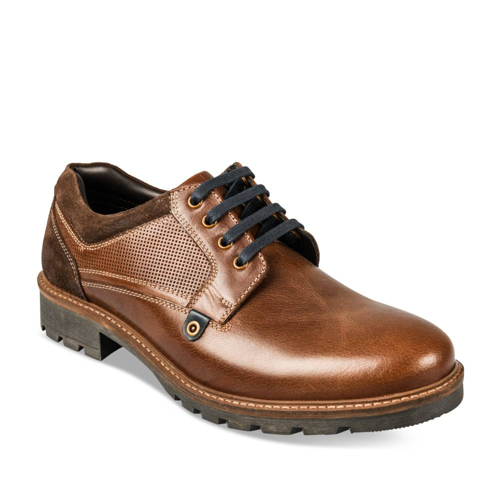 Derbies MARRON CAPE MOUNTAIN CUIR