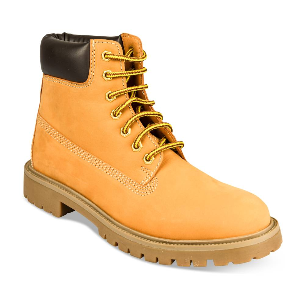 Bottines JAUNE CAPE MOUNTAIN CUIR