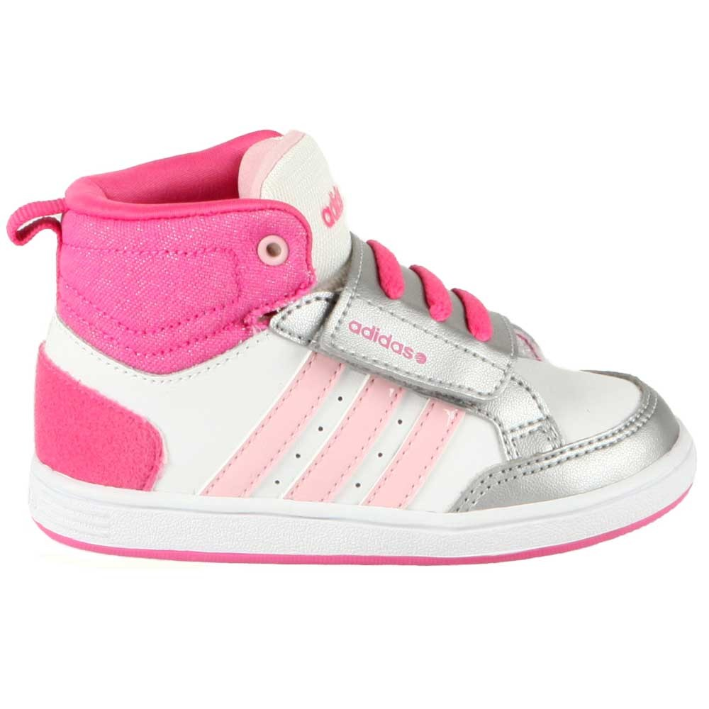 basket rose adidas fille
