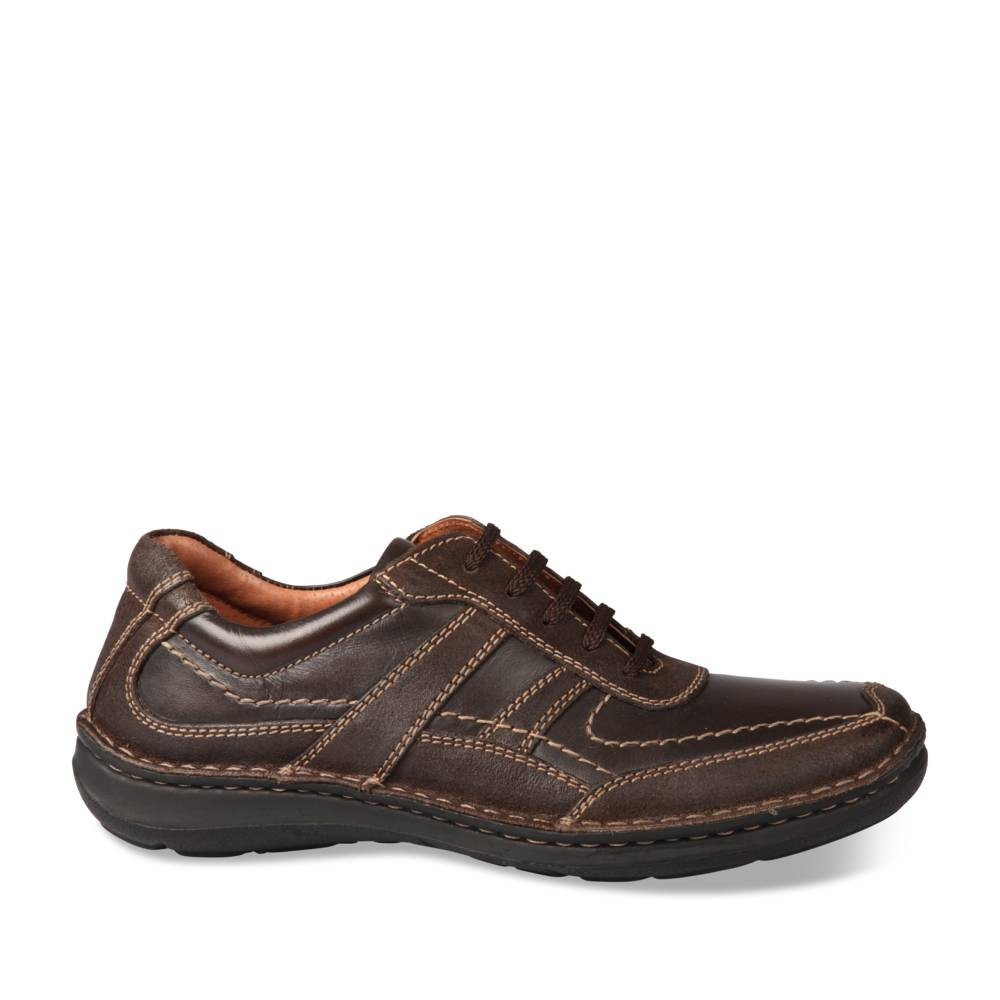 Baskets Marron Neosoft Homme Cuir