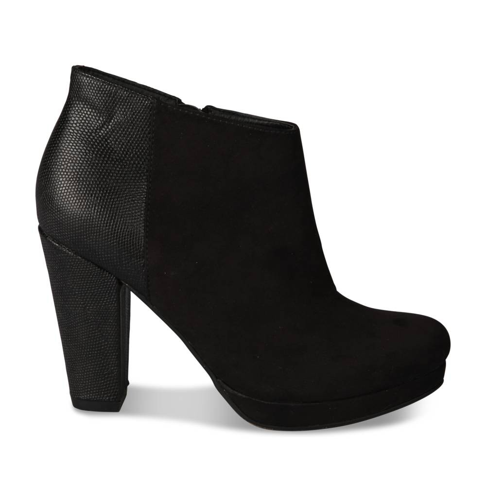 Bottines Noir Grands Boulevards gdhTGD