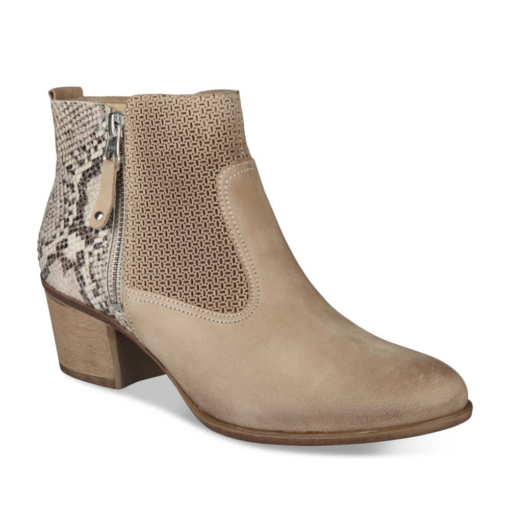 bottines beige closer - bottines et boots - femme