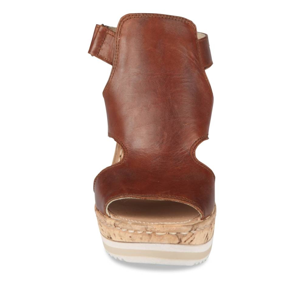 Nu-Pieds Marron Closer