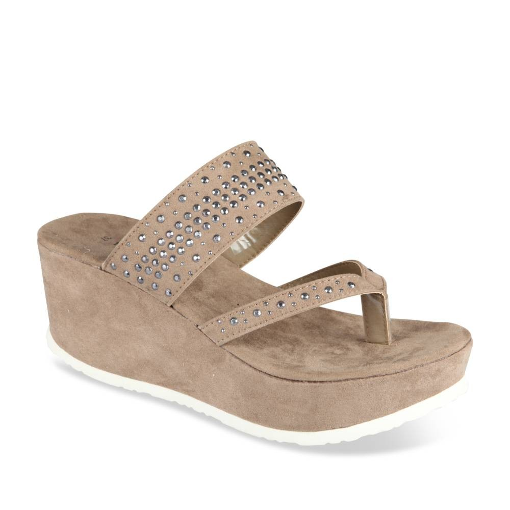 Mules Et Beige Thompson Sabots Angela by6f7gY