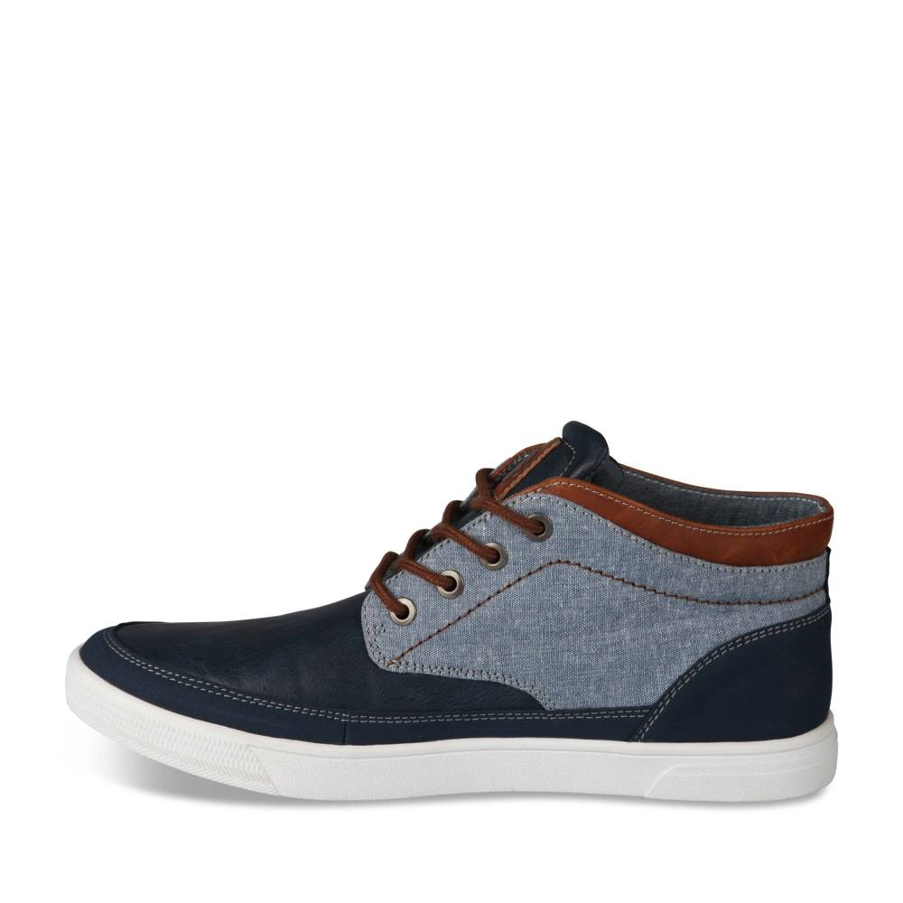 Baskets Bleu Denim Side