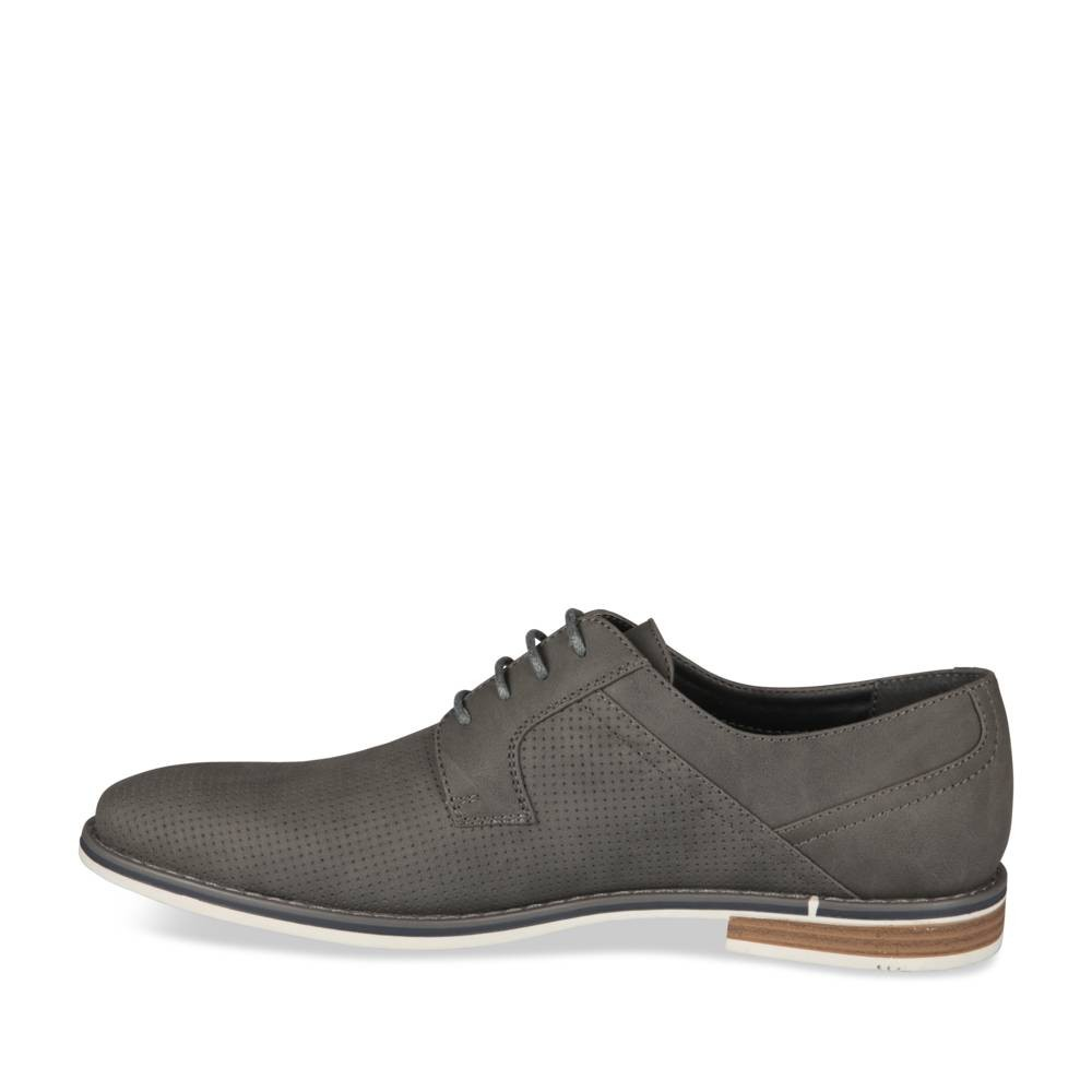 Derbies Gris Denim Side