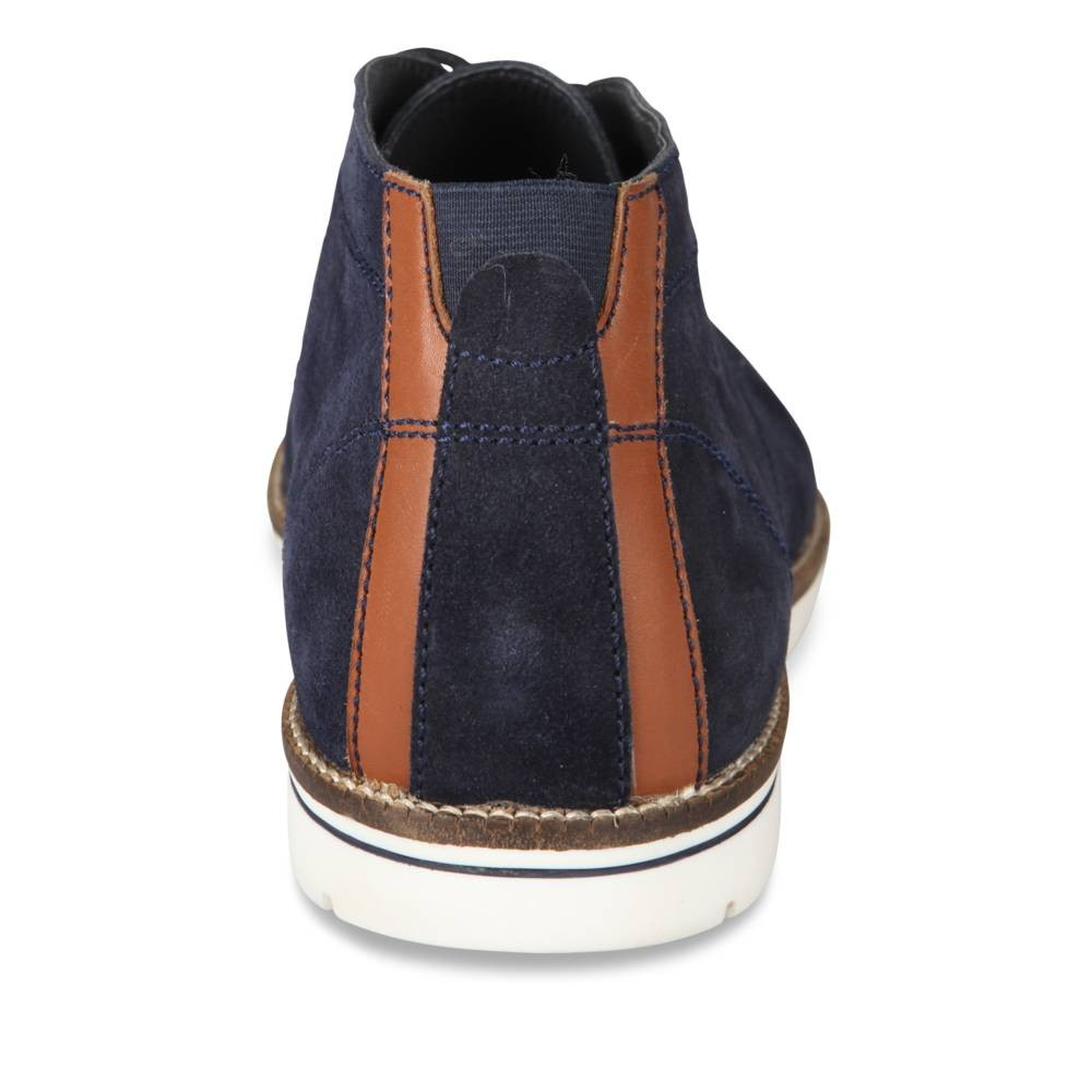 Derbies Bleu Denim Side