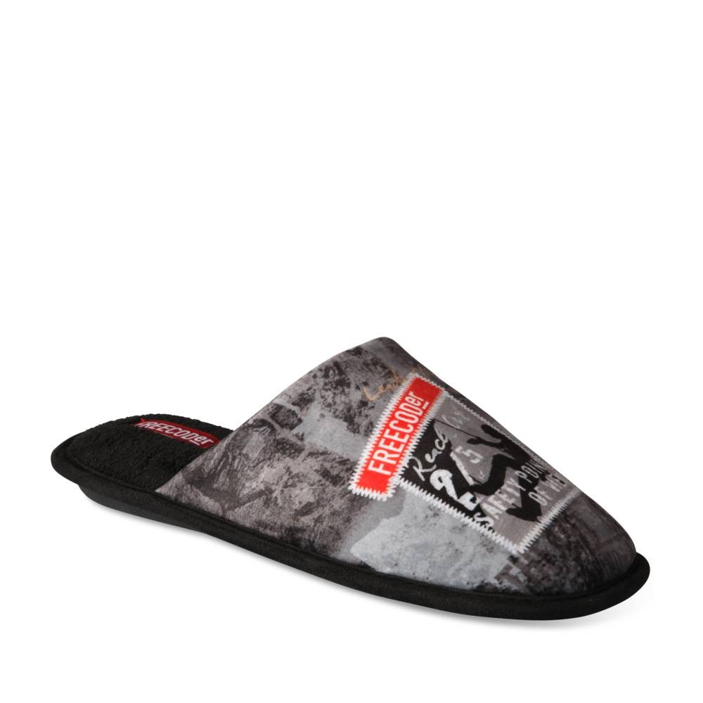 Chaussons Gris Freecoder