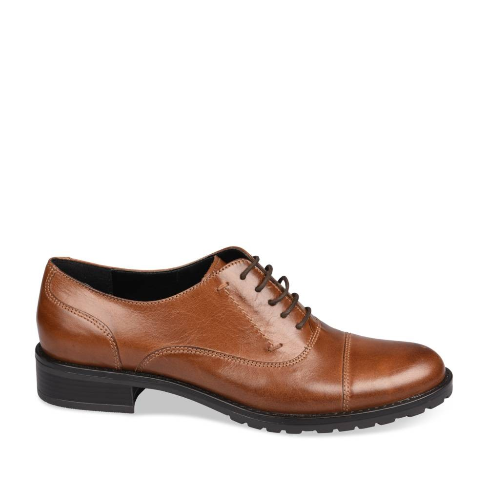 Derbies Marron Megis Casual OGMewwEwI3