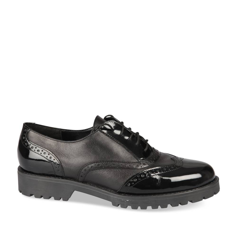 Derbies Noir Megis Casual t1LqnI4E4