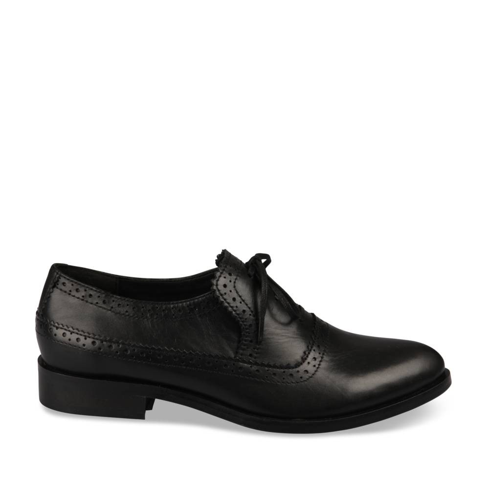 Derbies Noir Megis Casual