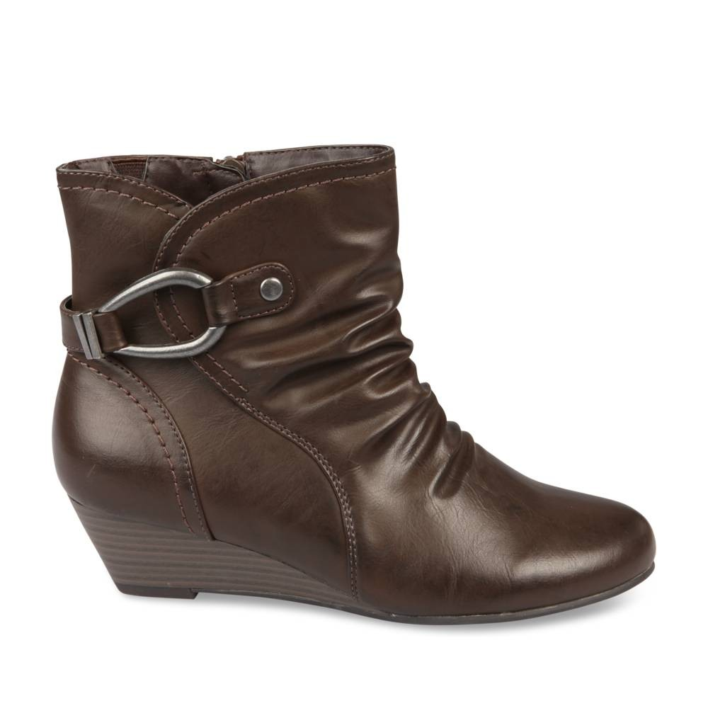 Bottines à talon MARRON NEOSOFT FEMME - Femme