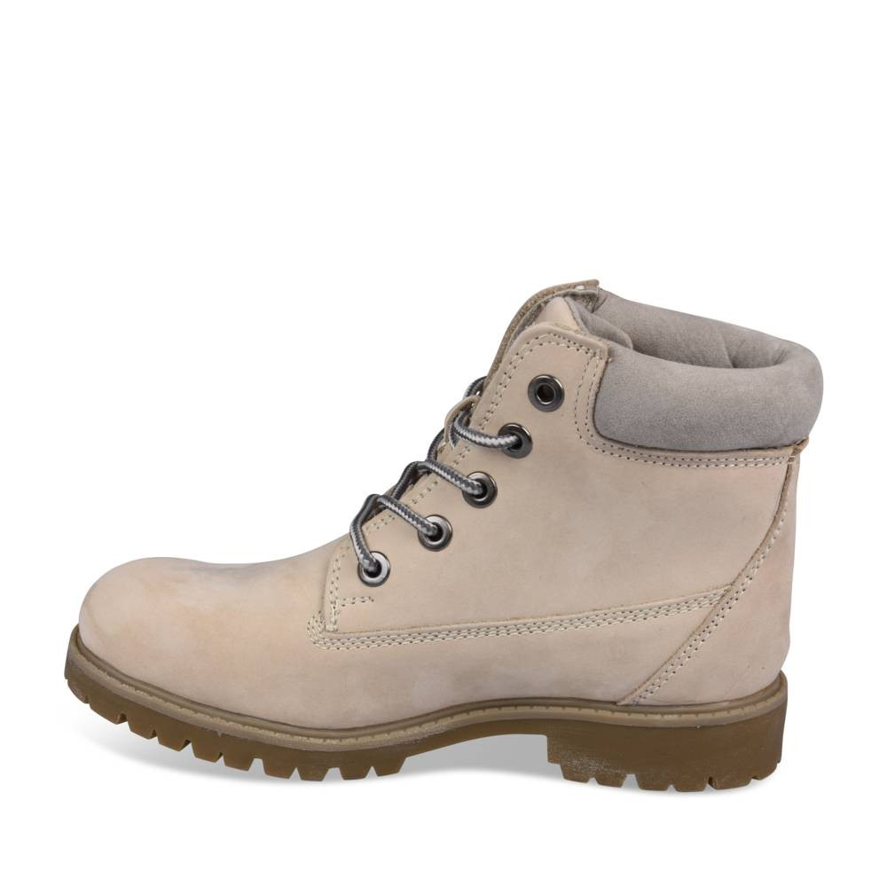 Bottines Blanc Megis Casual