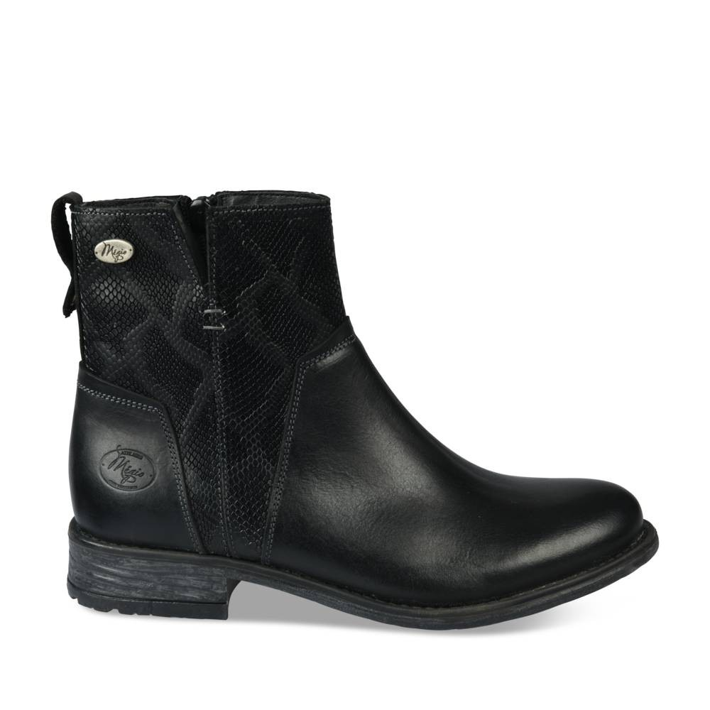 Bottines à talon NOIR MEGIS CASUAL - Bottines et boots - Femme