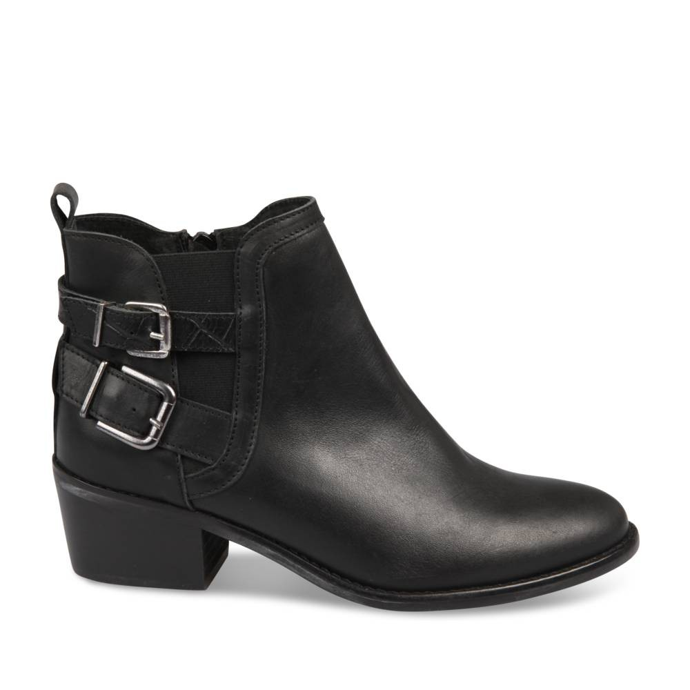 Bottines Noir Megis Casual