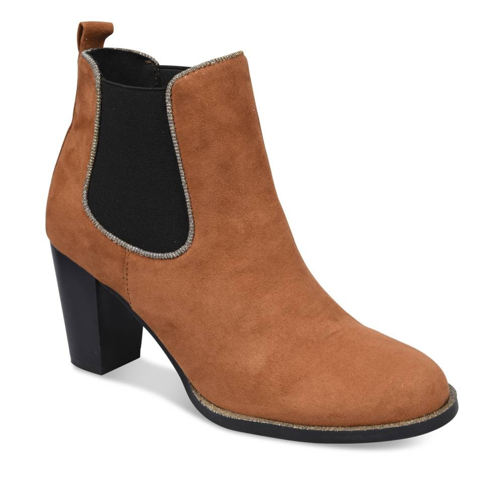 Bottines Beige Grands Boulevards