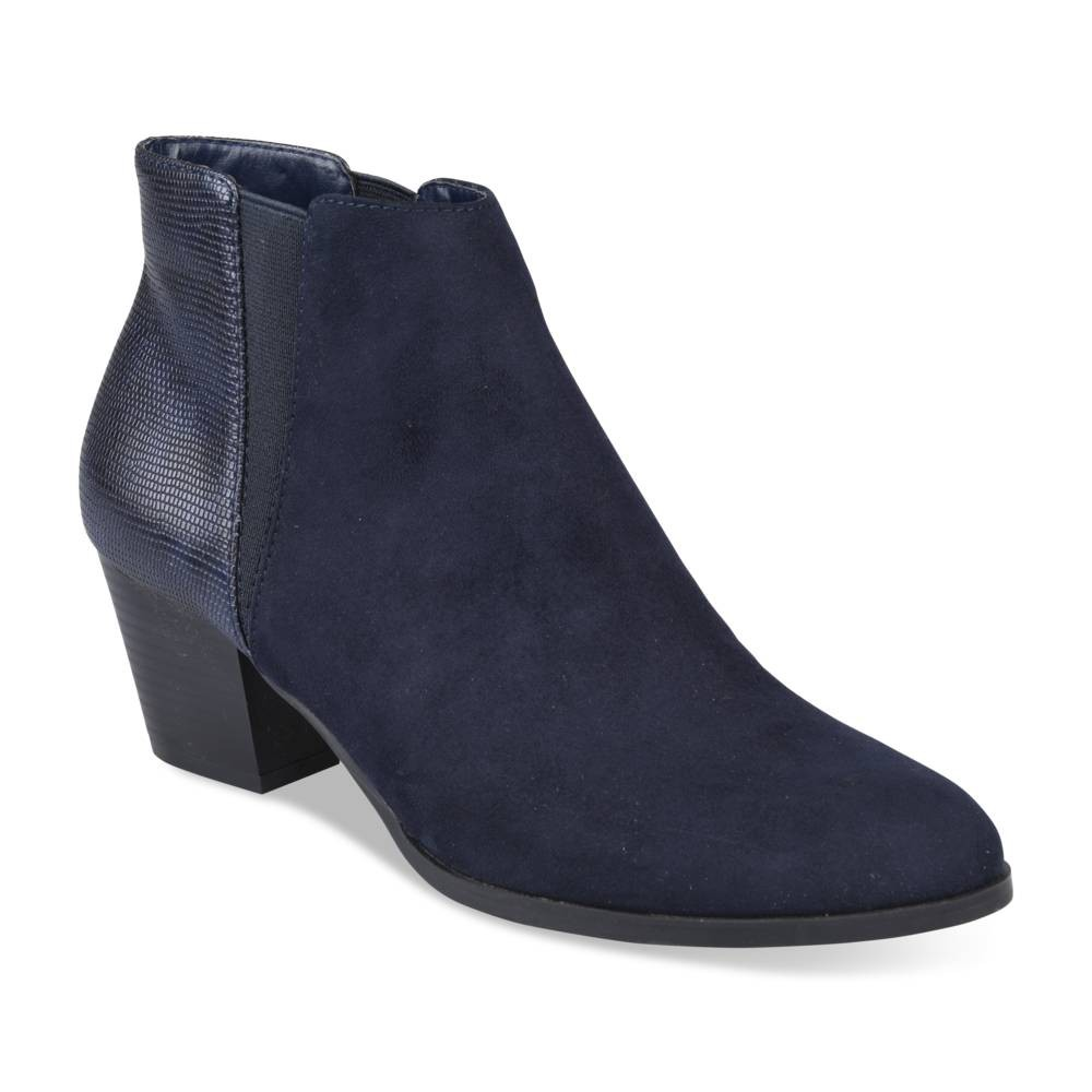 Bottines Bleu Grands Boulevards