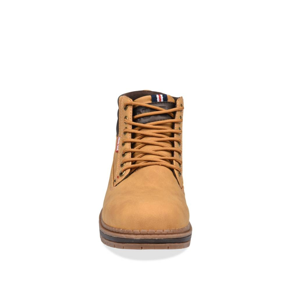 Bottines Jaune Denim Side