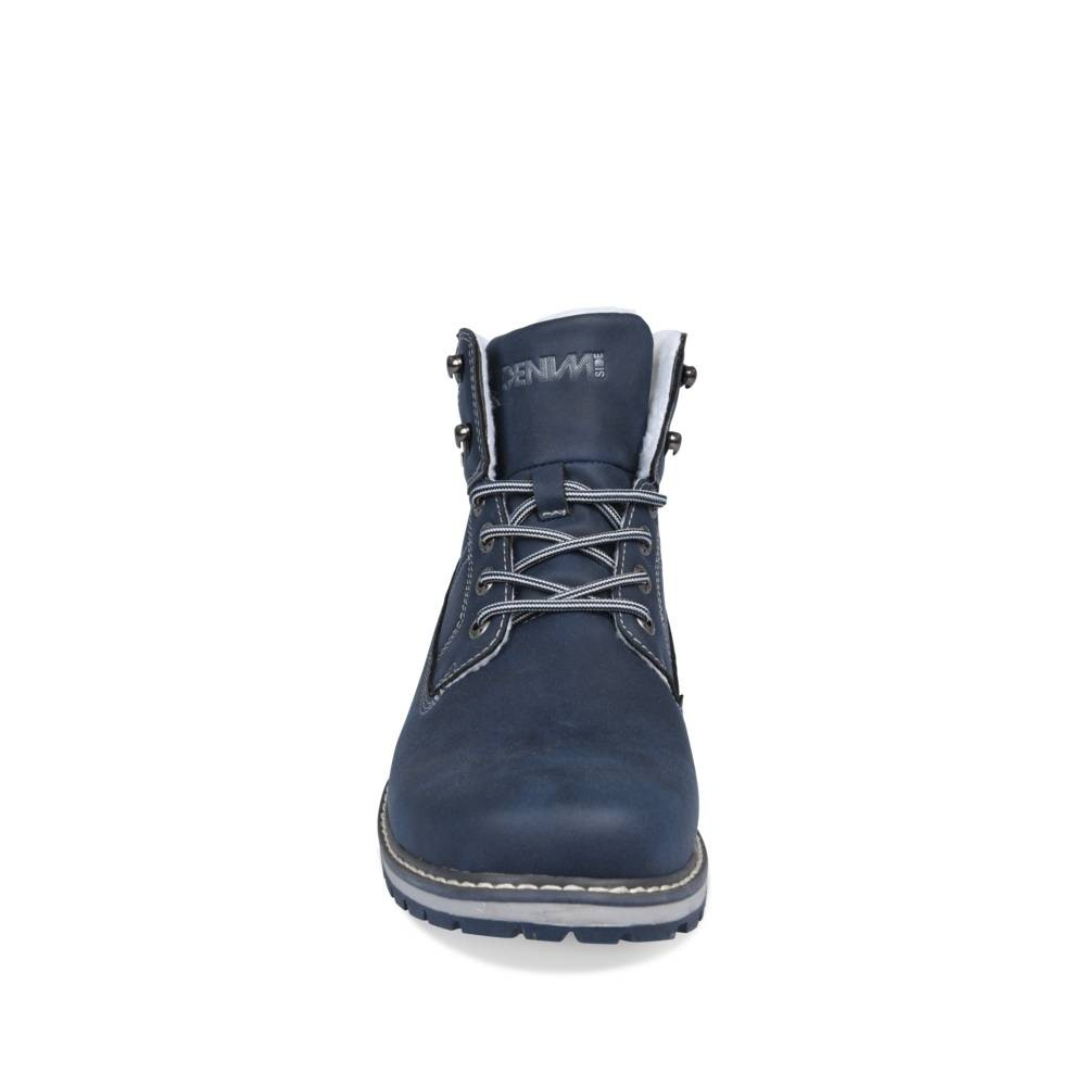 Bottines Bleu Denim Side