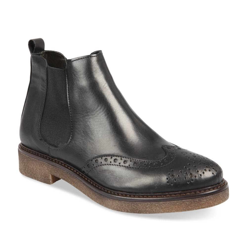 Bottines Noir Italian Shoes