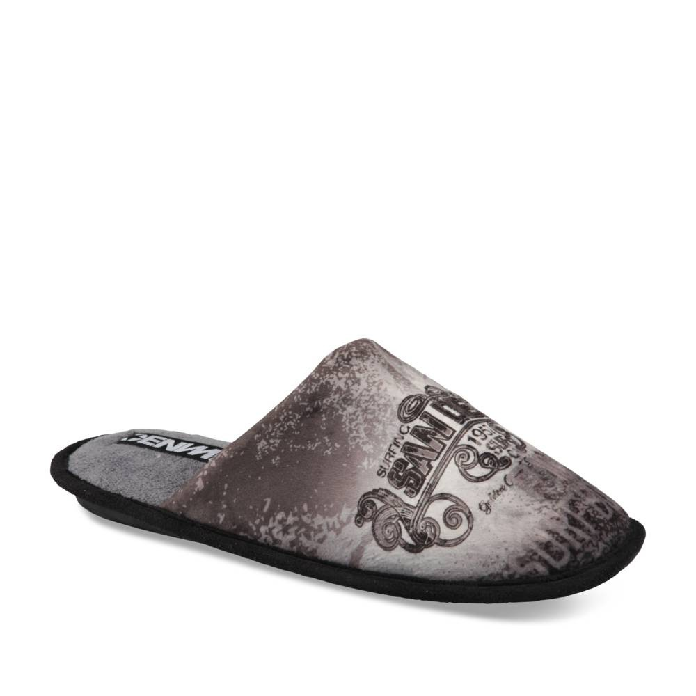 Chaussons Gris Denim Side