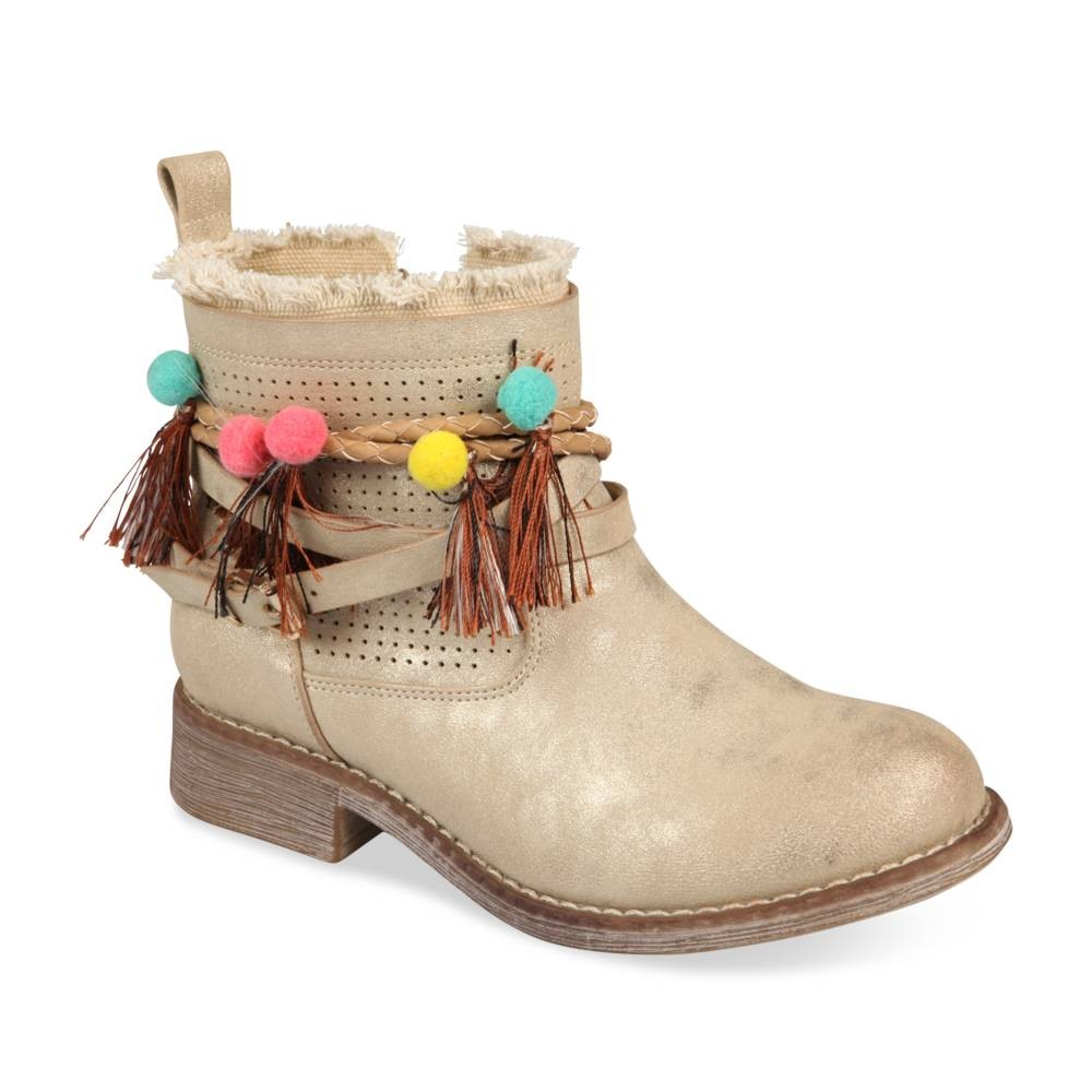 pas cher pour réduction a6ead 1dfaf Bottines OR LOVELY SKULL