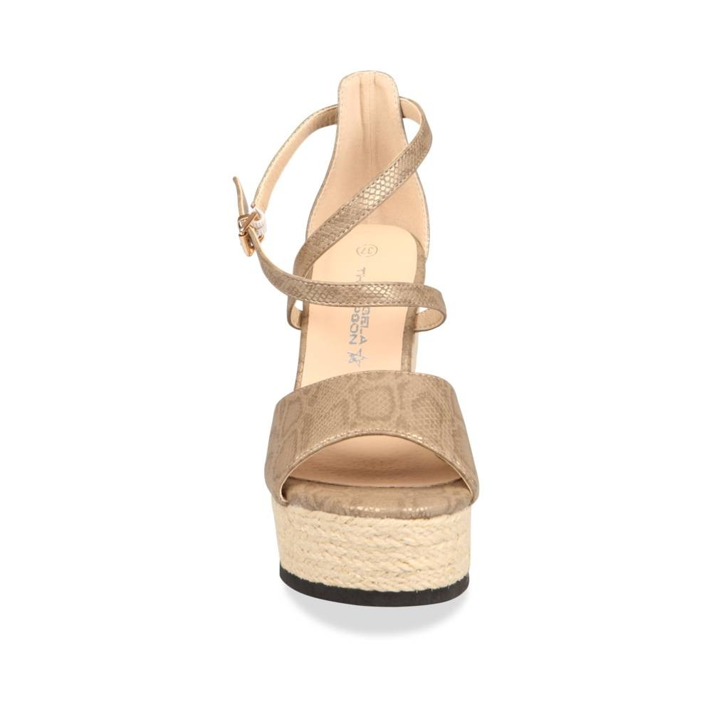 Sandales Beige Angela Thompson