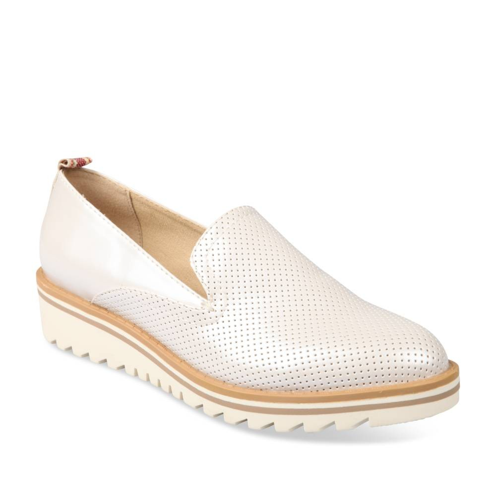 Mocassins Blanc Merry Scott NbJFVM