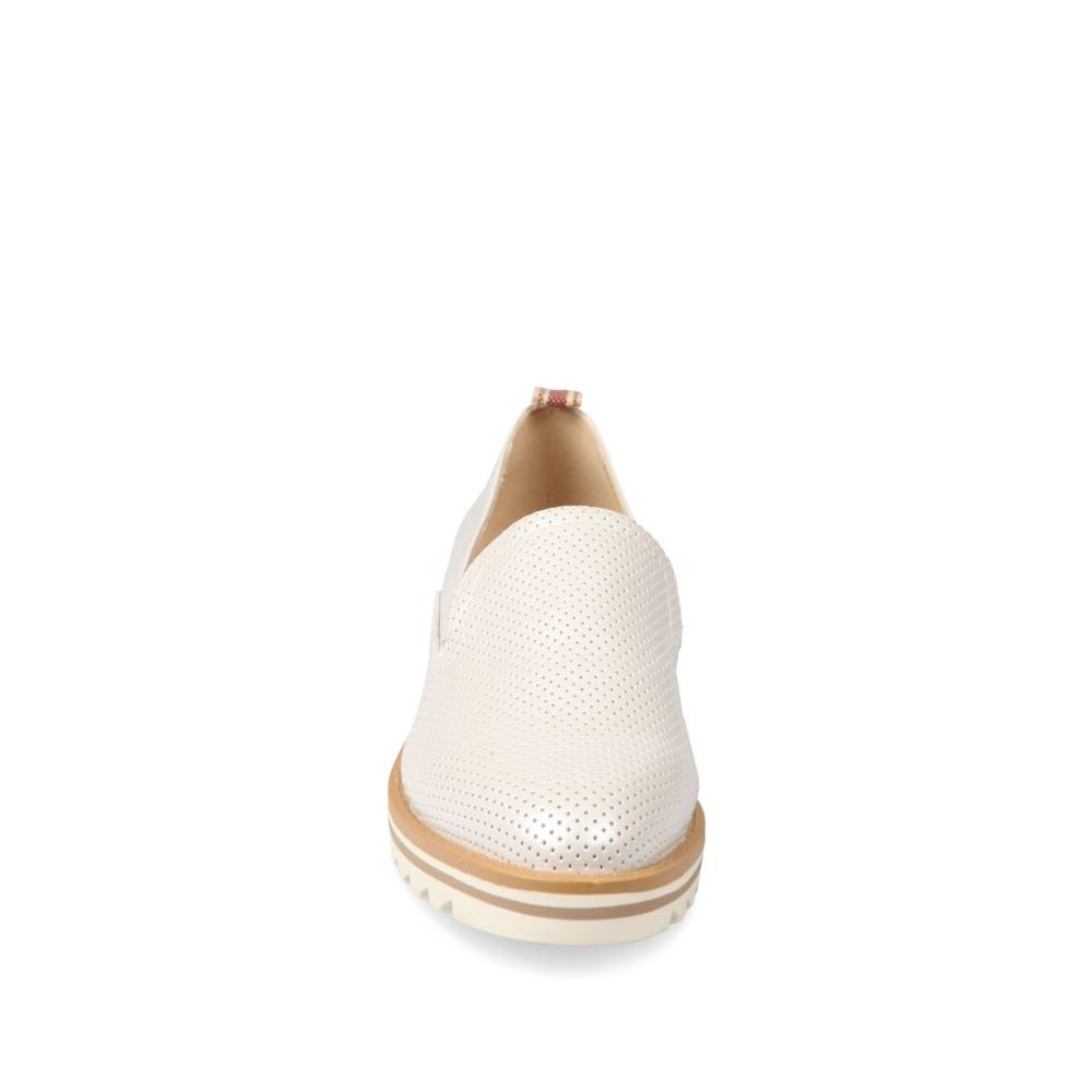 Mocassins Blanc Angela Thompson Ua7t5ehRA