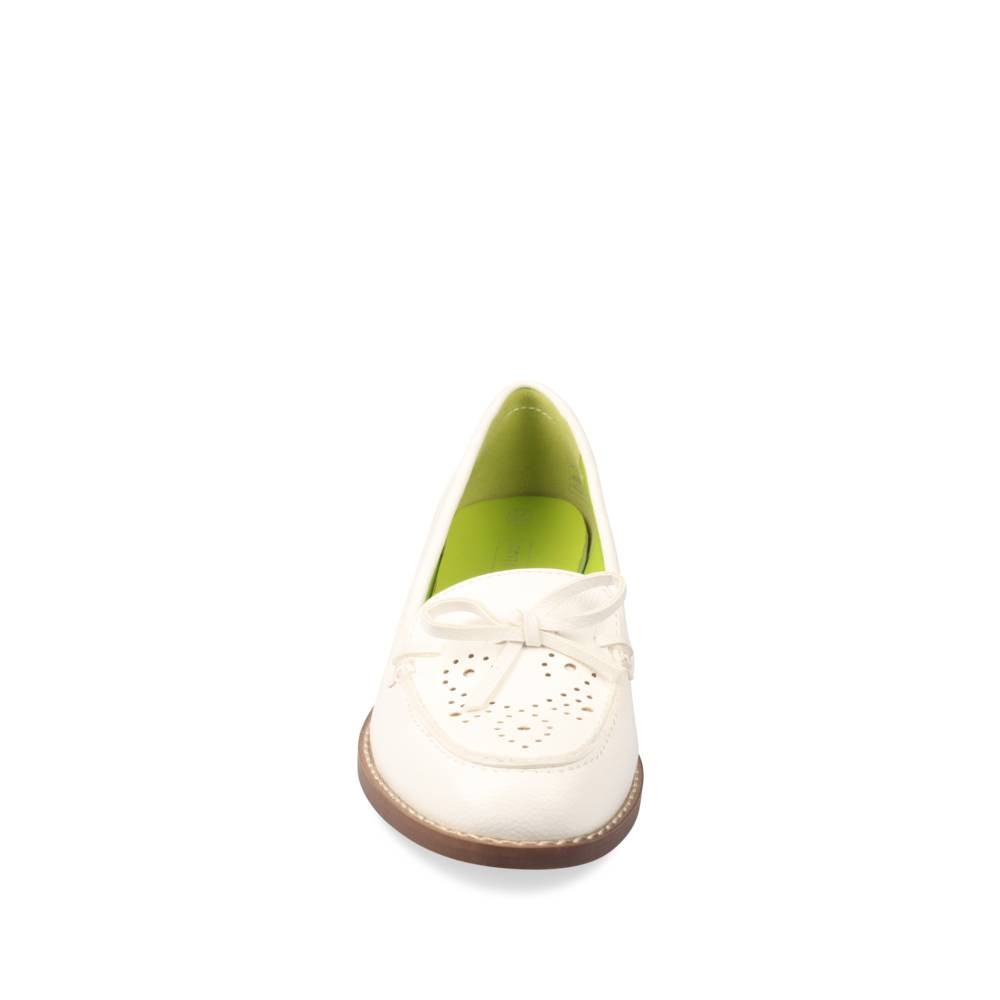 Mocassins Blanc Merry Scott