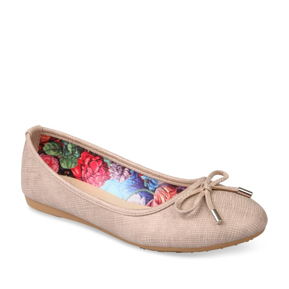 Ballerines Rose Merry Scott