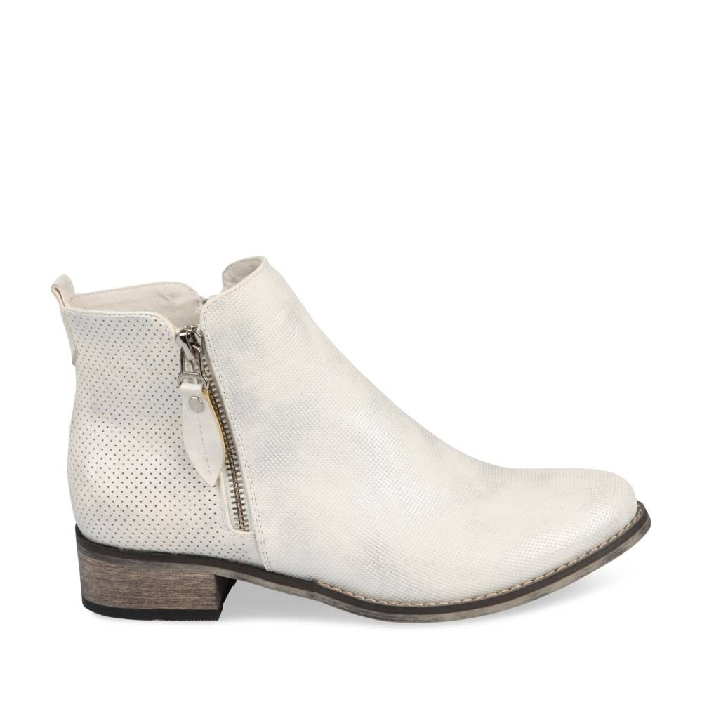 Bottines Blanc Merry Scott