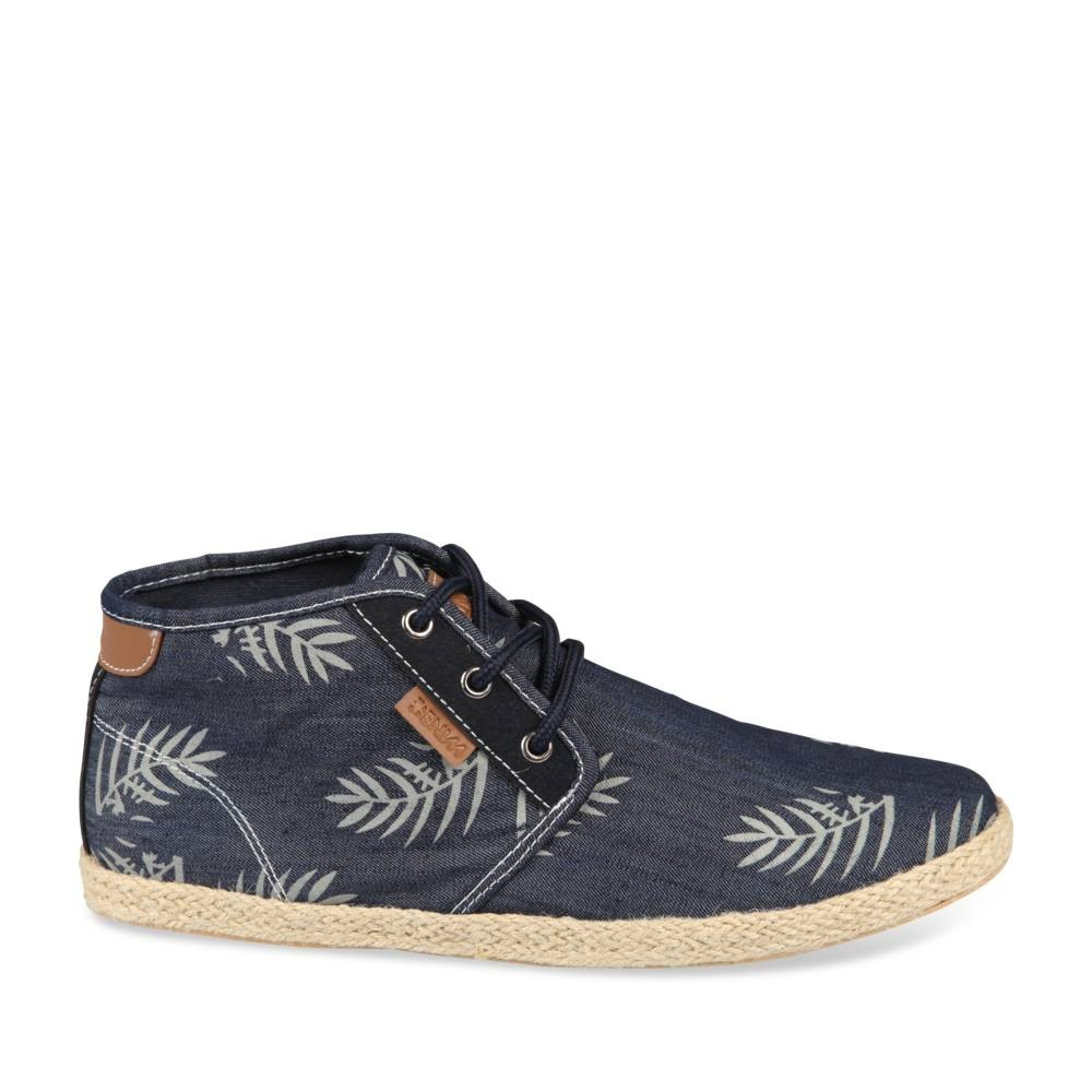 Espadrilles Bleu Denim Side