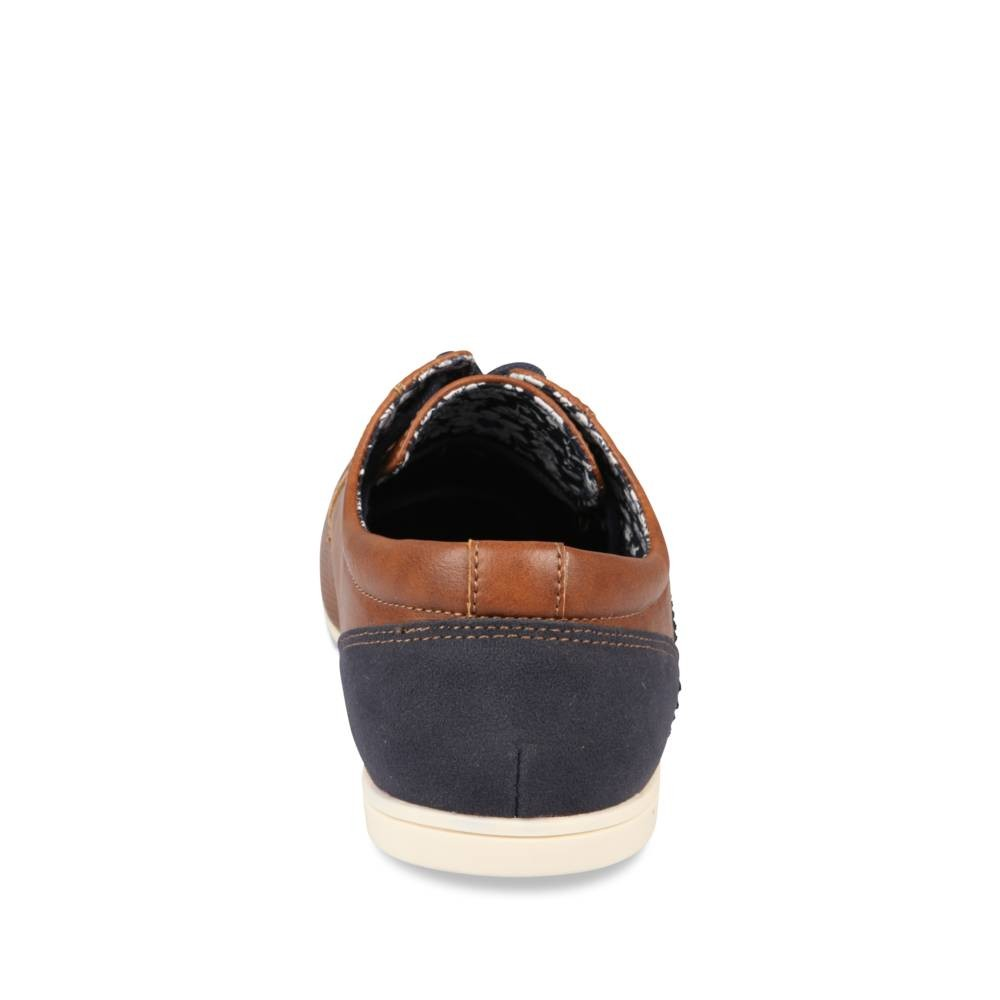 Derbies Marron Denim Side