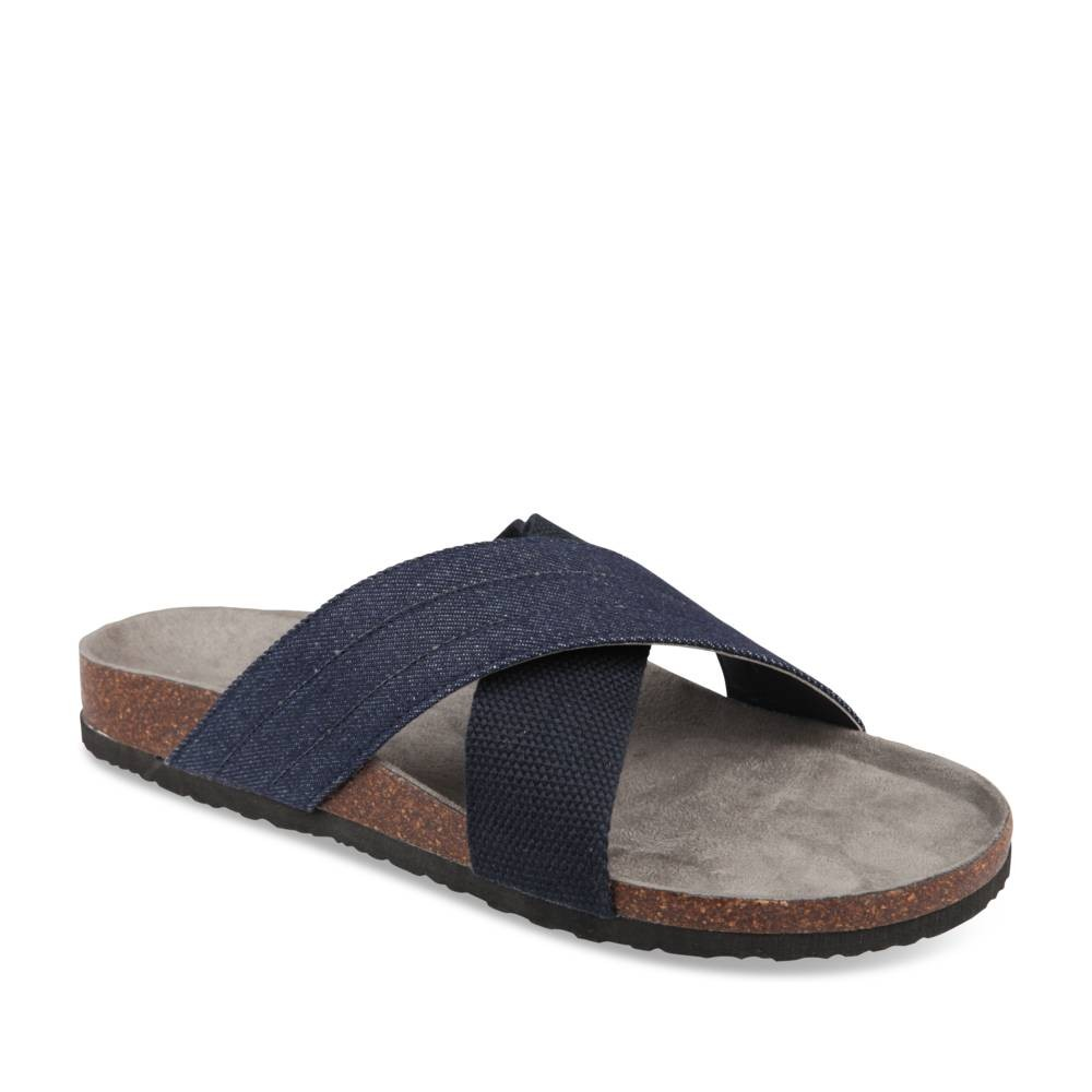Mules Bleu Denim Side