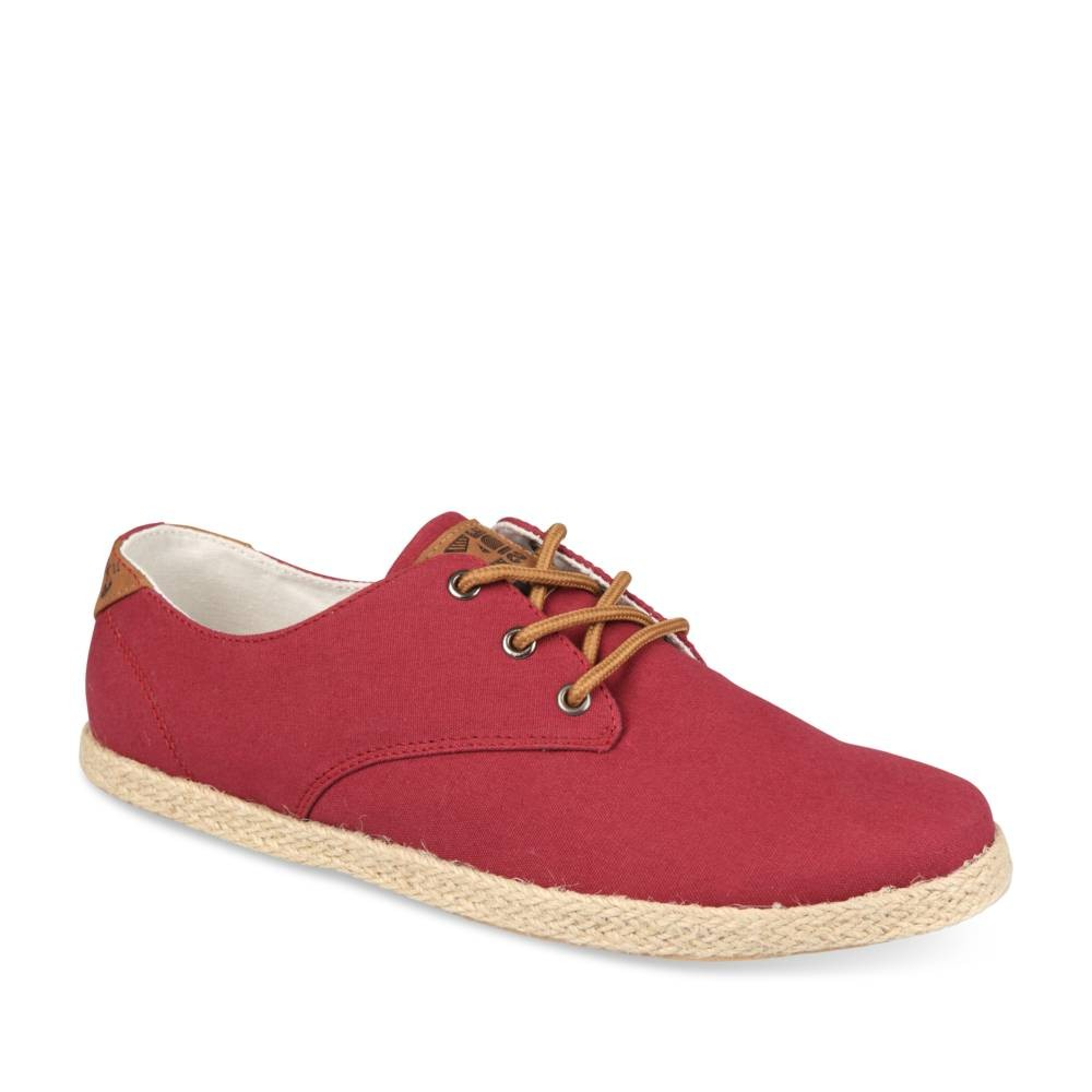 Espadrilles Rouge Denim Side