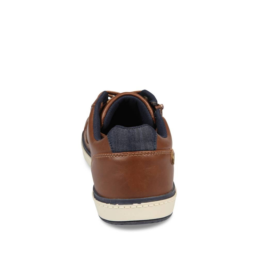 Baskets Marron Denim Side